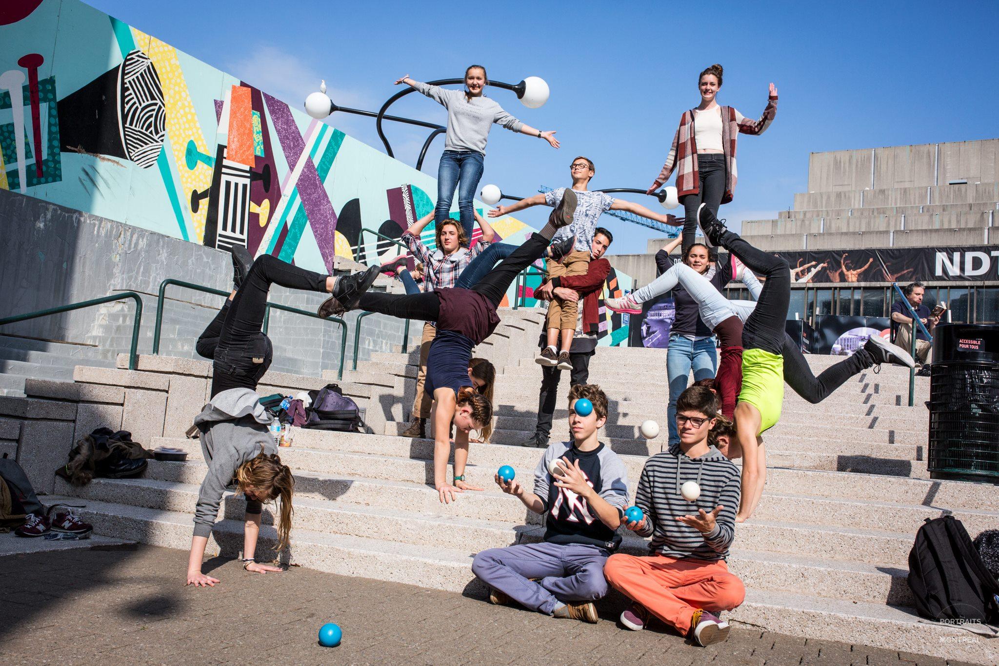 Nos élèves à Montréal en 2016