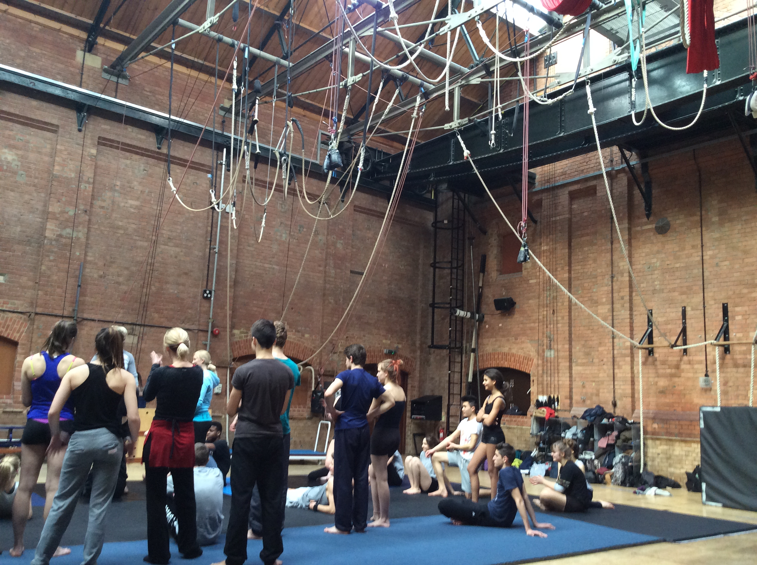 Circus Space Londres, Stage et Masterclasses